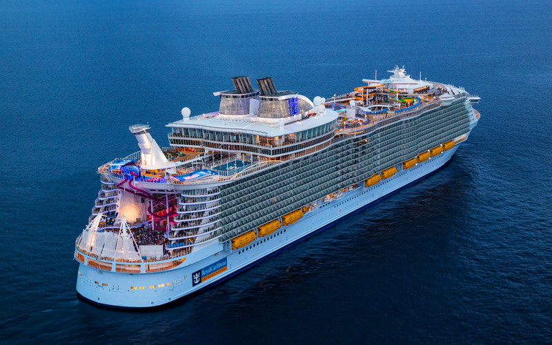 Western Med Onboard Symphony Of The Seas From Only Pp - Symphony cruise ship south africa